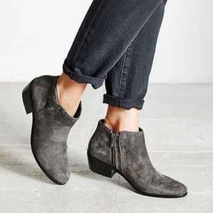 Sam Edelman gray booties